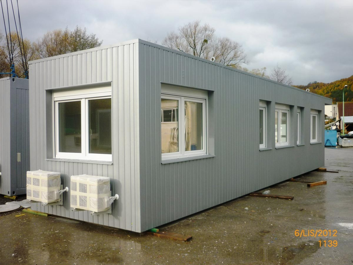 Prefab container
