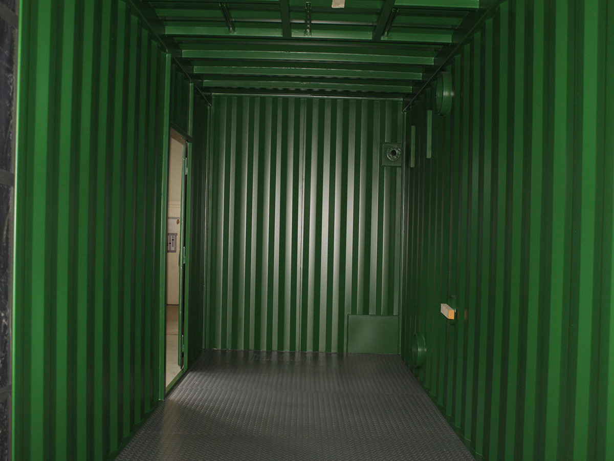 Gemodificeerde container