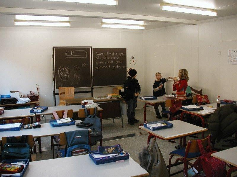 schoollokaal unit