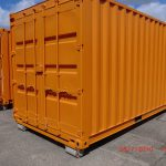 Container modificatie isolatie