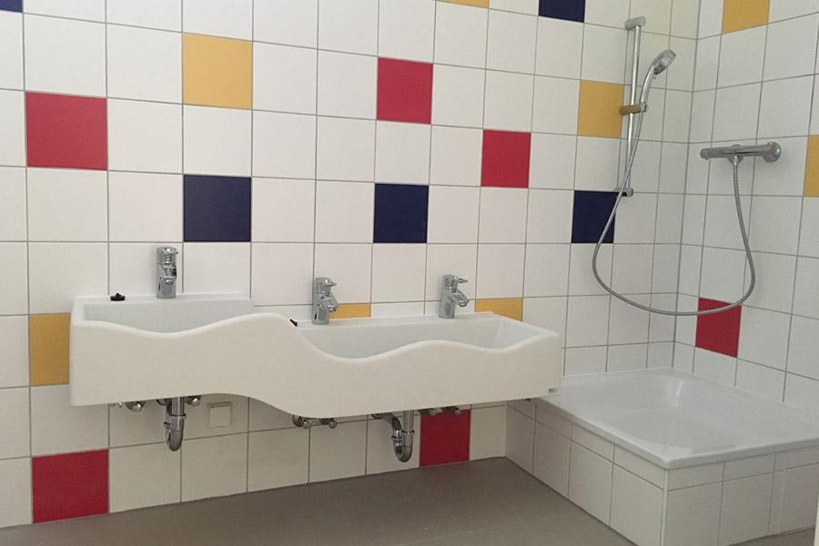 unit met badkamer